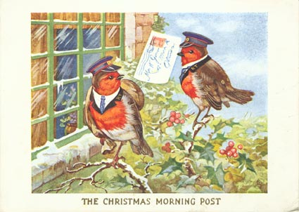 Robin-christmascard